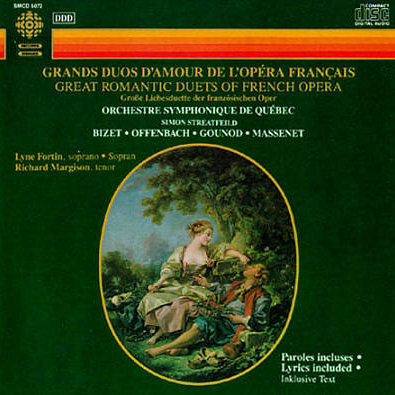 Great Romantic Duets of French Opera