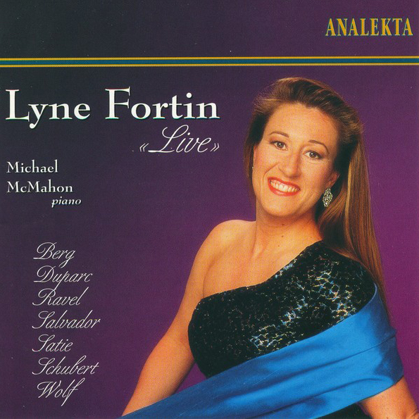 "Lyne Fortin ""Live"""